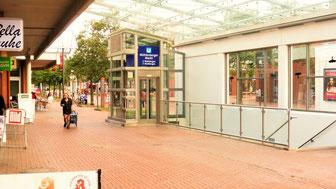 Bild: U-Bahnstation Mühlenberger Markt