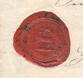 Bild: Siegel Seeligstadt bis 1855