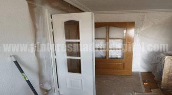 Pintar puertas de muebles