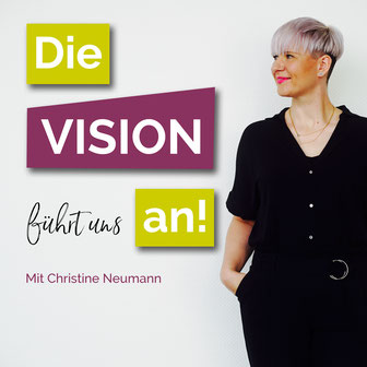 Christine Neumann auf dem Podcast-Cover