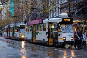 tranvía - vivir en melbourne - trabajar en melbourne - vivir en australia