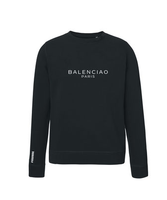 """BALENCIAO"" SWEATER BLACK 75€"