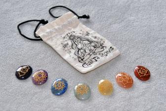 pierres de soin chakras