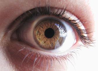 Fotografía Incorrecta del Iris con Reflejos