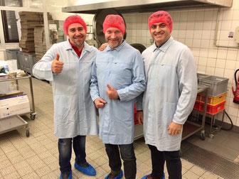 Pasta Herstellung