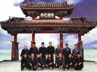 琉球古武道保存会 千葉県支部 集合写真