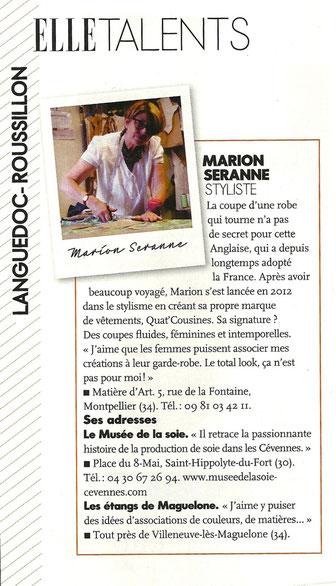ELLE Magazine 2013