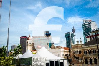 Route und Kosten Malaysia