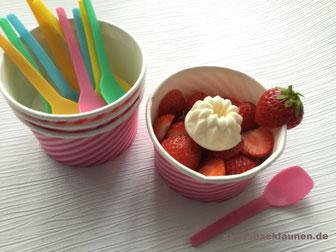 Frischkäse- Eis