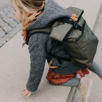 Minimalistischer und schlichter Rucksack für Kinder