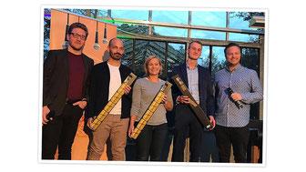 Erster Platz beim Siegener StartUp Slam 2019