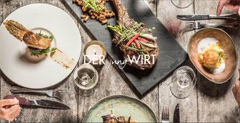 Ein Besuch im DERjungWIRT verspricht gemütlich-entspannte Momente in gediegener Atmosphäre - gepaart mit fantastischem Essen und Wein