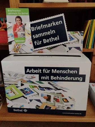 Briefmarkenbox für Bethel