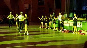 Die BoogieWoogie Kids des ATV Frankonia Nürnberg begeisterten mit verschiedenen flotten Tanzvorführungen das Publikum.