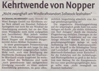 Backnanger Kreiszeitung vom 16.03.2017