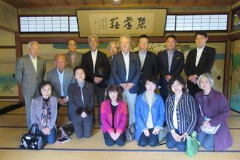 2016年秋の京都への親睦旅行