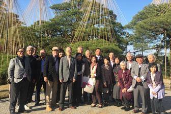 2017年秋の金沢への親睦旅行