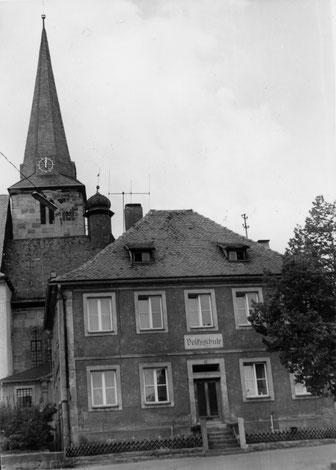 Erstes Schulgebäude aus dem Jahr 1790