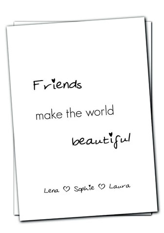 Freundschaft (personalisiert)