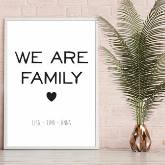 We are Family - ab 7,99€