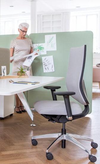 Sedus, se:do, Drehstuhl, Netz, Polster, Schiebesitz, Sitzneige, verstellbare Rückenlehne, Design