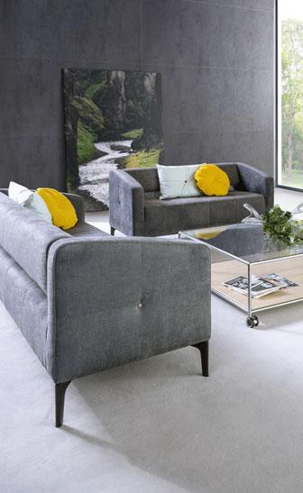 Züco, Destino, Sofa, Sessel, Absteppung, Design, Leichtigkeit, zeitlos, variabel