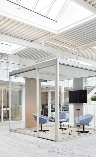 Bosse Design, Cube 4.0, Raum in Raum Lösungen, multifunktional, vielseitig