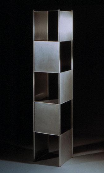 Steel12, Stahlregal, Focus in Gold 2002, Nominierung Designpreis Bundesrepublik Deutschland 2004, Publikumspreis Designcenter Stuttgart