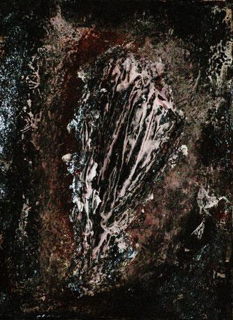 Rhizom, Acryl auf Leinwand, 35x25, 2012