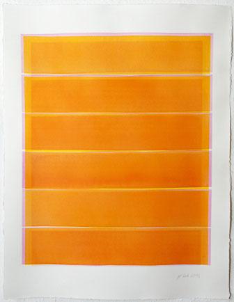 Überlagerung 110 I Tusche auf Büttenpapier I 65 x  50 cm