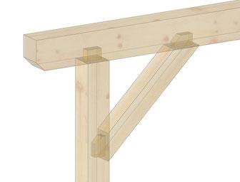 Schlitz- und Zapfenverbindungen Holzbau