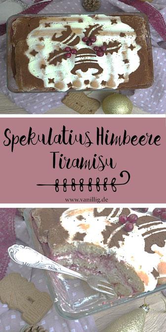 Spekulatius tiramisu, Himbeere Tiramisu, Spekulatius, Tiramisu, Himbeere, rezept für tiramisu, dessert zum weihnachten, nachspeise zum weihnachten,