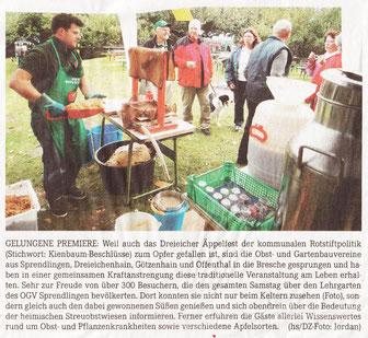 Quelle: Dreieich-Zeitung vom 27.09.2012