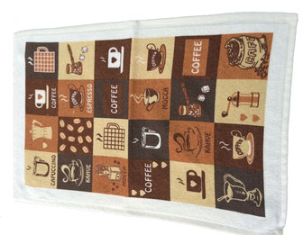 Printed kitchen dish towels manufacturer