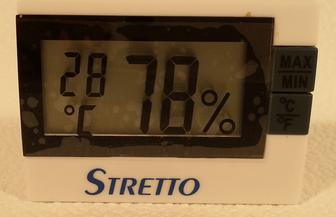 Hygromètre Thermomètre STRETTO