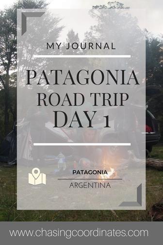 Patagonia road trip day 1