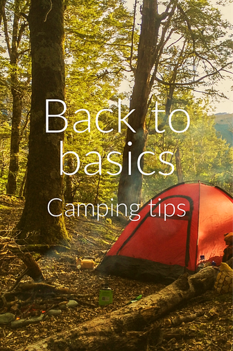 Camping tips for basic camping