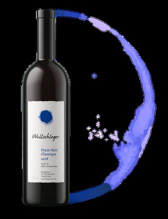 Weinflasche Pinot Noir