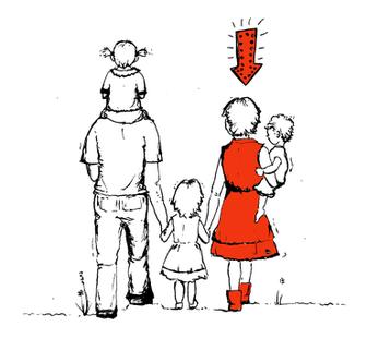 Autorin Alva Sokopp: klein, groß, mittel, illustriert von Susanne Binder