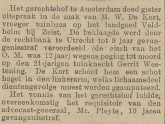 Provinciale Noordbrabantsche en 's Hertogenbossche courant 10-12-1903