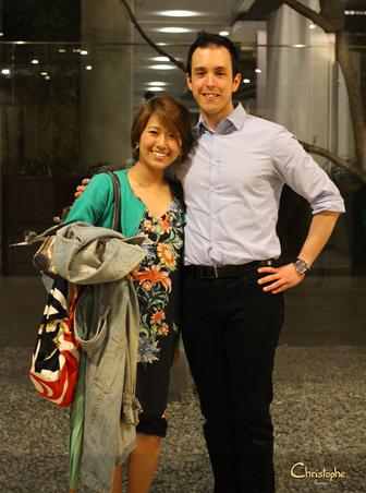 Merci à Miki (amie d'Osaka), la photographe, rencontrée à Paris 5 mois plus tôt, sur mon lieu de travail :)