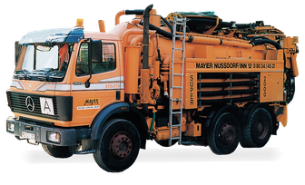 Fahrzeug zur Rohrreinigung, Kanalreinigung, Georg Mayer GmbH, Nußdorf