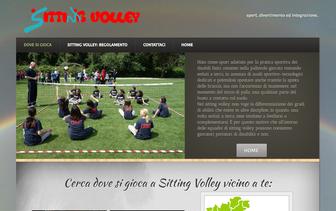 vai al sito dedicato al Sitting Volley