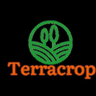 Getreide und Mais, Schriftzug Terracrop zero waste