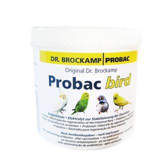 Probac bird von Dr. Brockamp ist ein Probiotikum zur Stabilisierung der Darmflora von Ziervögeln