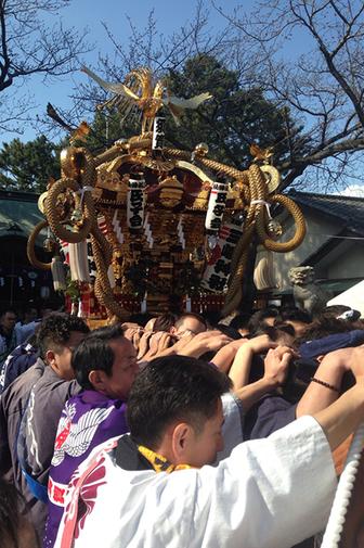 平塚三嶋神社春まつり,  平成30年