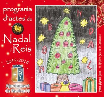 Navidad en Benicarló - Programa de Nadal