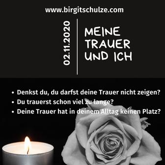 Workshop: Meine Trauer & ICH | Foto: Birgit Schulze