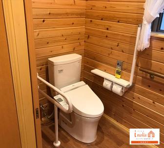 足利市イノリス斎場のトイレ