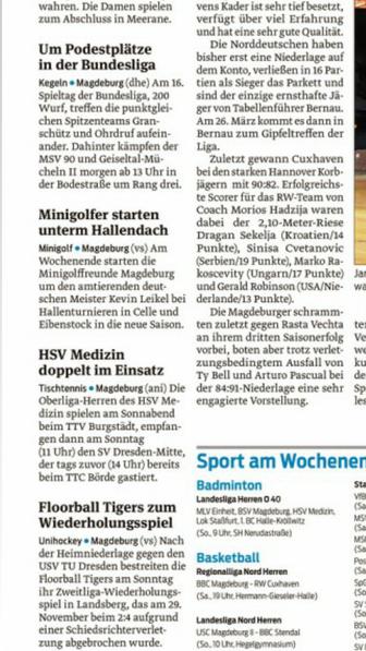 Saison 2016 06.03. Eibenstock